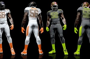 Nike Football Reveals The 2015 NFL Pro Bowl Uniforms
