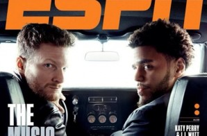 Dale Earnhardt Jr. & J. Cole Cover ESPN The Magazine's Feb. 2 Music Issue (Photo)