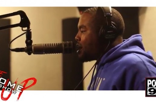 Quilly – DJ Cosmic Kev The Come Up Show Freestyle (Video)
