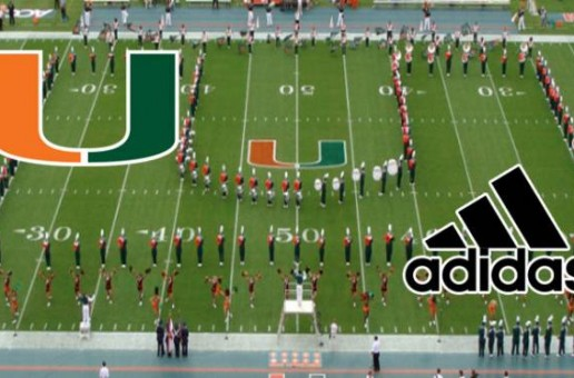 The University Of Miami Leaves Nike And Signs A 8 Year Deal With Adidas
