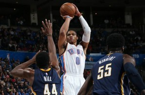 Air Westbrook: Russell Westbrook Continues His MVP Season With His Third Triple-Double This Year (Video)