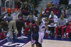 Welcome To Atlanta: Hawks Forward Mike Scott Posterizes Wizards Star Bradley Beal With A Nasty Jam (Video)