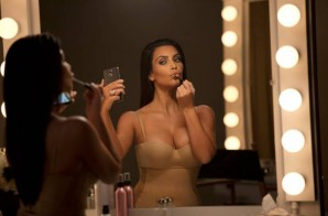 "Kim Kardashian Gets Risqué For ""LOVE"" Magazine (Photo)"