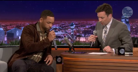 """Will Smith and Jimmy Fallon's """"It Takes Two"""" Beatbox Re-Make"""