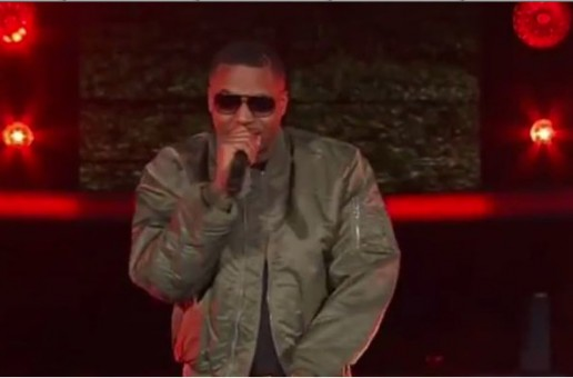 Nas Opens Up 2015 NBA All Star Game With N.Y. State Of Mind (Video)