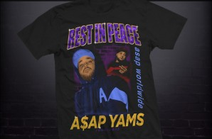A$AP Mob Set To Release A$AP Yams Tribute T-Shirt