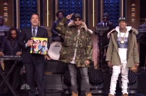 Chris Brown & Tyga Perform On Fallon! (Video)
