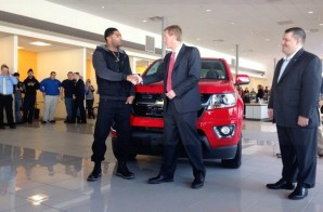 Chevrolet Gives New England Patriots Malcolm Butler His MVP Chevrolet Colorado Truck (Photos)