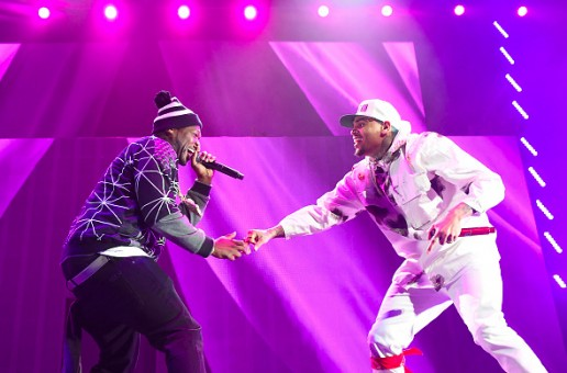 Chris Brown Brings Out G-Unit in Brooklyn (Video)