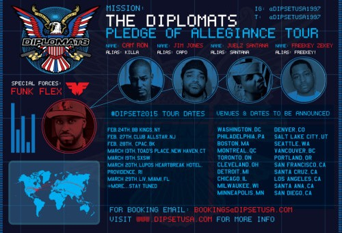 Dipset Announces 'Pledge Of Allegiance' Tour