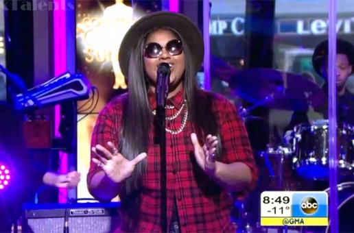 Jasmine Sullivan Performs On Good Morning America (Video)