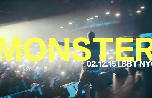"""Meek Mill Performs """"Monster"""" Live At The Best Buy Theater In NYC (2.12.15) (Video)"""