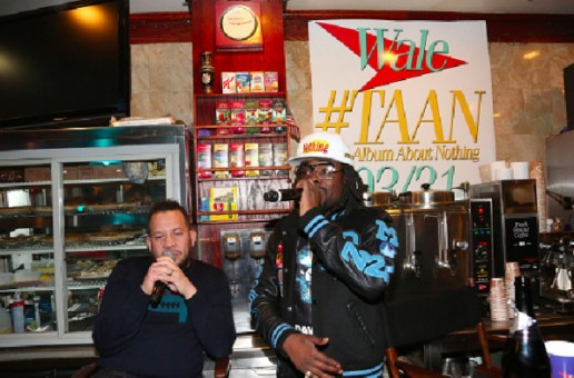 Wale Hosts Listening Party For The Album About Nothing (Video)