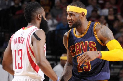 James Harden & Lebron James Duel In Houston In A Regular Season Heavyweight NBA Matchup (Video)