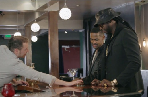 2 Chainz & Big Sean Drink Diamond-Infused Vodka Martinis Worth $100,000 (Video)
