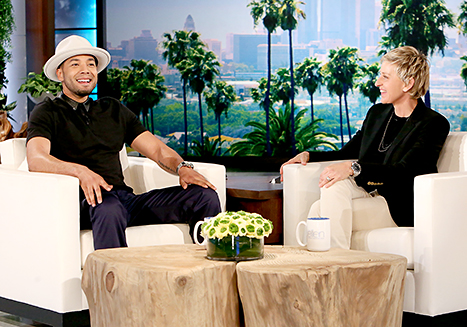 'Empire' Star Jussie Smollett Reveals To Ellen DeGeneres That He Is Gay (Video)