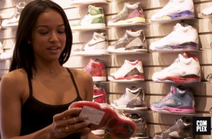 Karrueche Tran Goes Sneaker Shopping With Complex (Video)