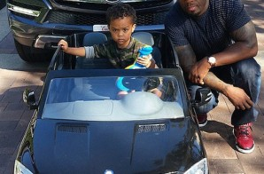 50 Cent's 2-Year-Old Son Signs $700K Modeling Deal With Kidz Safe