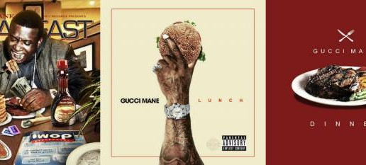 Gucci Mane Releases Three New Albums: 'Breakfast,' 'Lunch,' & 'Dinner'