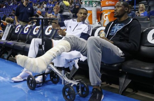 Damn Damn Damn: Kevin Durant Will Miss The Rest Of The 2014-15 NBA Season