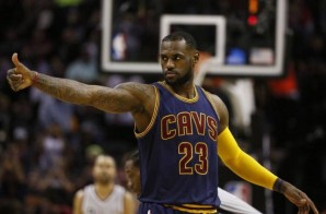 A King Among Men: Lebron James Finishes A Sweet Alley-Oop Reverse Layup (Video)