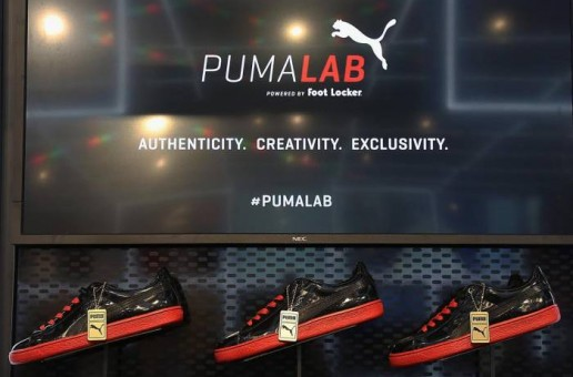 Meek Mill Visits Puma's New Puma Lab Powered By Foot Locker In Philly (Photos)