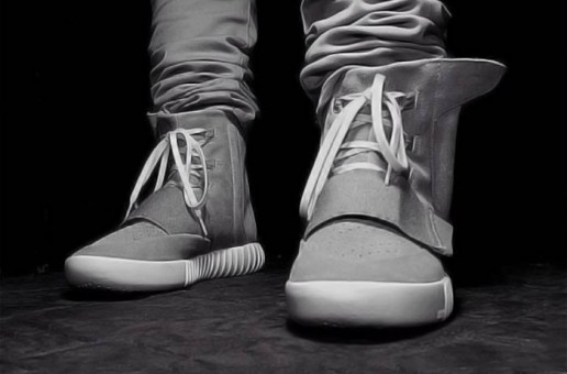 Kanye Hosts Yeezy Boost Adidas Launch Party In NYC (Video)