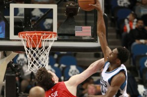 Welcome To The Future: Andrew Wiggins Elevates & Posterizes New Orleans Pelicans Center Omer Asik (Video)