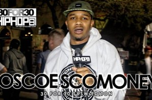 Roscoe ScoMoney – 30 For 30 Freestyle (2015 SXSW Edition) (Video)