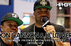 Don Cannon & Lil Uzi Vert Talk With HHS1987 At Sneaker Friends ATL (Video)
