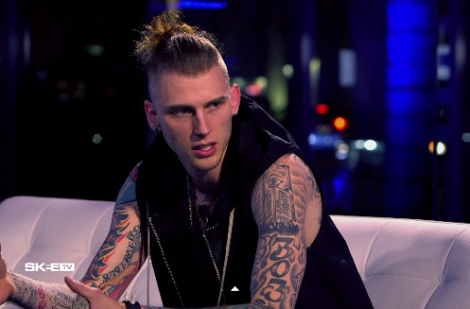 Machine Gun Kelly Performs 'A Little More' On SKEE TV (Video)