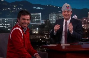 Manny Pacquiao On Jimmy Kimmel LIve