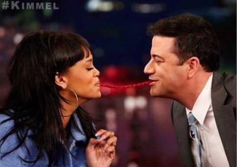 Joke's On YOU: Rihanna Pranks Jimmy Kimmel On April Fool's Day (Video)