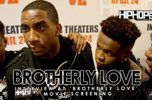 Brotherly Love (R&B Group) At 'Brotherly Love' Movie Screening in Philadelphia (3/31/15) (Video)
