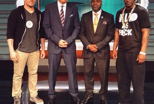 "Cam'Ron Makes His Guest Appearance On ""The Nightly Show"" (Video)"