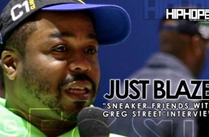 Just Blaze Talks His Love For The Sneaker Culture, His Favorite Kicks & More With HHS1987 At Sneaker Friends ATL (Video)