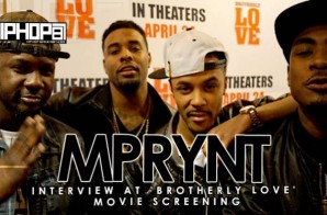 Mprynt At 'Brotherly Love' Movie Screening in Philadelphia (3/31/15) (Video)