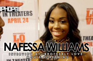 Nafessa Williams Talks Her Role 'Brotherly Love,' Motivational Speaking, & More (Video)