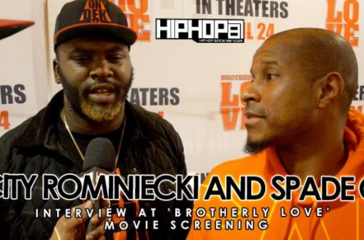 Spade-O & City Rominiecki At 'Brotherly Love' Movie Screening in Philadelphia (3/31/15) (Video)