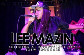 "Lee Mazin Performs ""Wrong One"", ""Surrender"" & More At The 2015 SXSW HHS1987 Showcase (Video)"