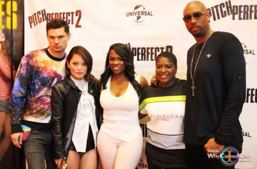 Kandi Burruss, Montell Jordan, Ester Dean, Claudia Jordan & More Attend The 'Pitch Perfect 2' Screening In Atlanta (Photos)