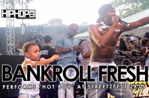 "Bankroll Fresh & Bankroll PJ Performs ""Hot Boy"" at StreetzFest 2k15 (Video)"
