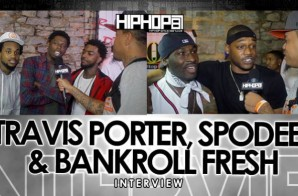Travis Porter, Bankroll Fresh & Spodee Talk '3 Live Krew' & 'Life Of A Hot Boy: Real Trapper' With HHS1987 At Street Fest 2015 (Video)