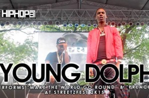"Young Dolph Performs ""Make The World Go Round"" & ""Preach"" at StreetzFest 2K15 (Video)"