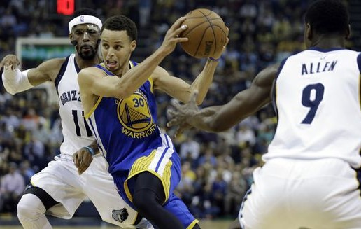 Steph Curry Drops 33 Against Memphis In Game 4; Grizzlies & Warriors Series Tied (2-2) (Video)