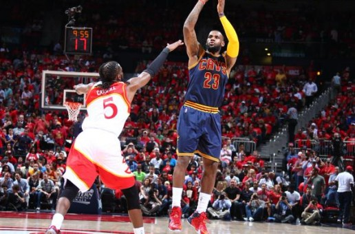 Lebron James Leads The Cleveland Cavs To A (2-0) Series Lead Against The Atlanta Hawks (Video)