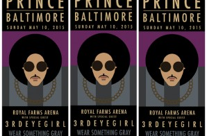 Prince Is Set To Headline A Concert In Honor Of Freddie Gray In Baltimore This Weekend