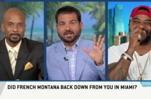 ESPN's Highly Questionable Ask Jim Jones About His Confrontation With French Montana & More (Video)
