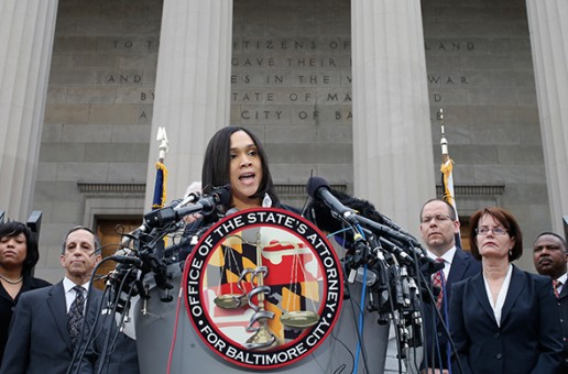 Marilyn Mosby Announces Freddie Gray's Death Has Been Ruled A Homicide; 6 Officers Charged