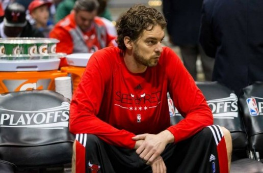 Pau Gasol Ruled Out Of Game 5 Against The Cleveland Cavaliers